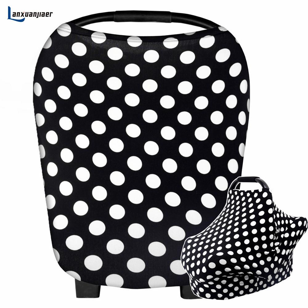 [해외]간호 커버 다용도 모유 수유 스카프 베이비 카시트 커버 장바구니 높은 의자 유모차 그레이트 인피니티 목도리 /Nursing Cover Multi Use Breastfeeding Scarf Baby Car Seat Cover Shopping Cart High Ch