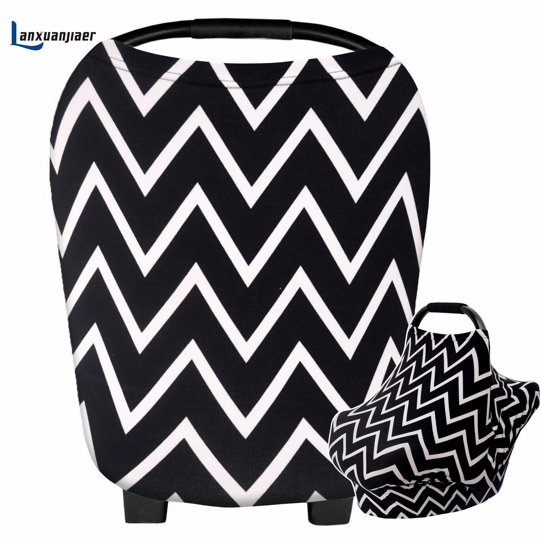 [해외]간호 커버 여성 유방 커버 모유 수유 신생아 간호사 의류 출산 코튼 베이비 담요 신축성 자동차 바다/Nursing Cover Women Udder Covers Breastfeeding Newborn Baby Nurse garment Maternity printe