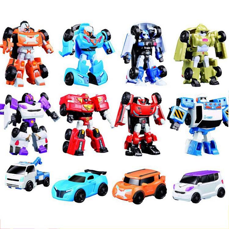 [해외]8 스타일 어린 완구 변압기 토봇 로봇 완구 Z 한국 만화 변형 형제 애니메이션 토봇 변형 어린이를자동차 완구/8 Styles Young Toys Transformer Tobot Robot Toys Z Korea Cartoon Deformation Brother