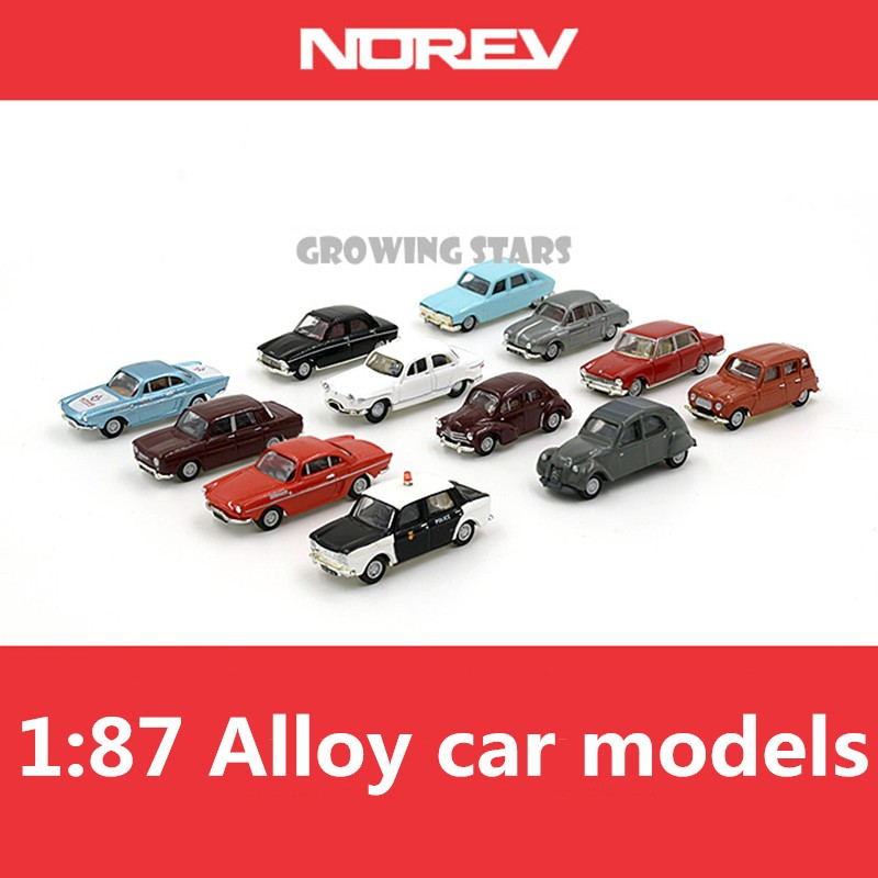 [해외]특수 NOREV 모델, 1 : 87 합금 norev 클래식 자동차 모델, 금속 다이 캐스트, 어린이 장난감 차량,/Special NOREV model,1:87 alloy norev Classic car models,metal Diecasts, Children l
