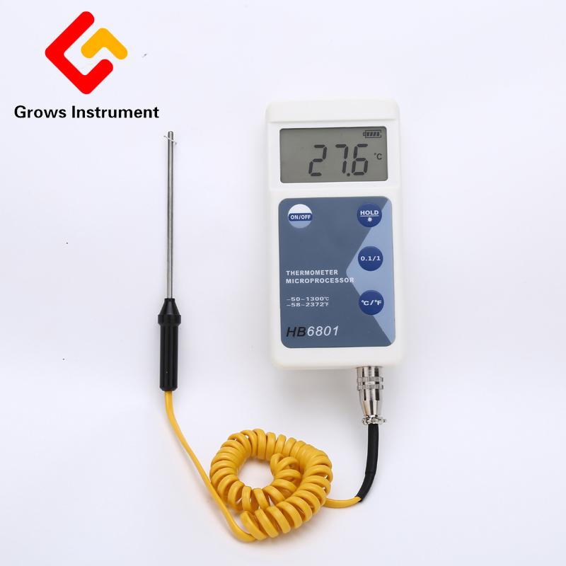 [해외]고정밀 온도 측정 장비 LCD 화면 디지털 온도계 휴대용 범용 온도 측정 센서/High Precision Temperature Measuring Instrument LCD Screen Digital Thermometer Portable Universal Temp