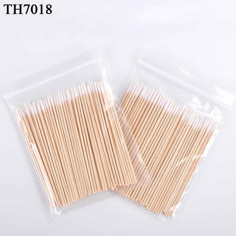 [해외]500Pcs 최고의 일회용 미니 목화 면봉 화장품 문신 Microblading 눈썹 화장품 닦아 도구 키트/500Pcs Best Disposable  Mini Wood Cotton Swab Cosmetics For Tattoo Microblading Eyebro