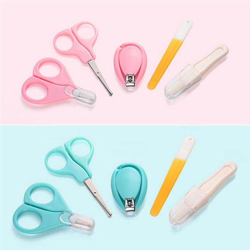 [해외]5 PCS 세트 아기 손톱 가위 신생아 어린이 안전 미니 실용 케어 손톱 깎기/5 PCS Set Baby Nail Clippers Scissors Newborn Kids Safe Mini Practical Care Nail Clipper