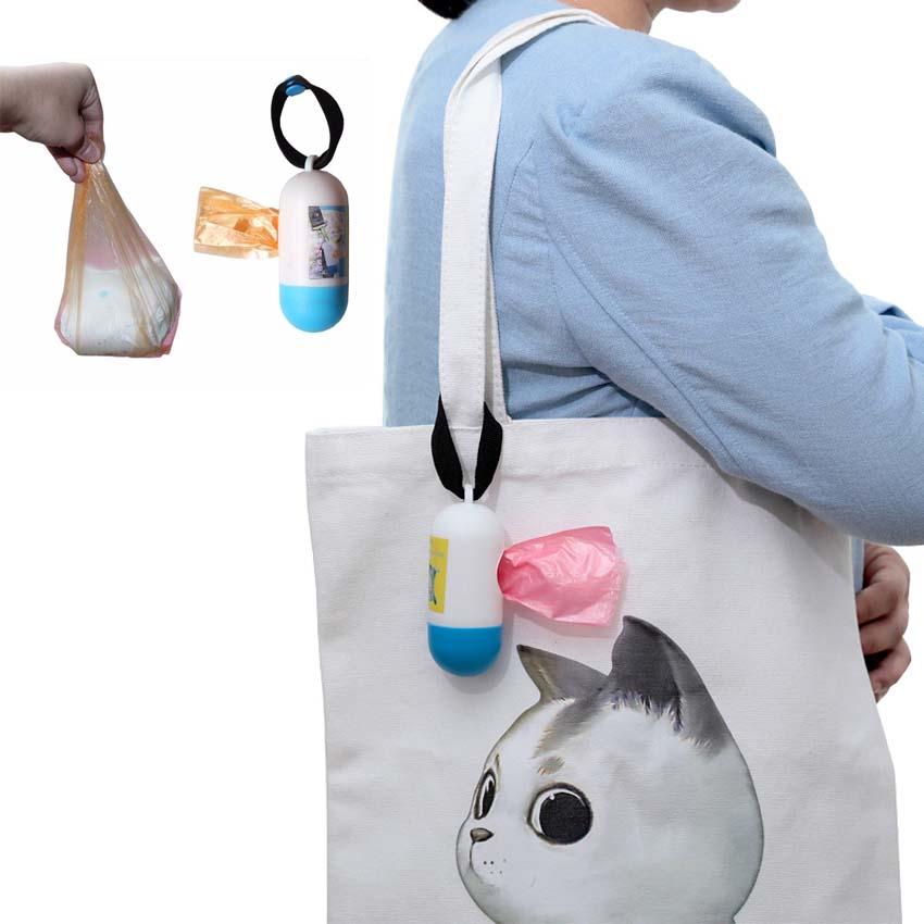 [해외]10 롤 = 200 개 쓰레기 봉투 여행 내피 가방 아기 기저귀 일회용 일회용 쓰레기 봉투 아기 건강 관리 SetBox/10 rolls=200 pcs Garbage Bags Travel Nappy Bags Baby Diaper Disposable One-time
