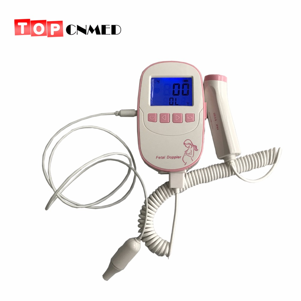 [해외]2.4 && LCD 디스플레이 FHR 모니터 임신 한 FHR 알람 기능 온도 프로브에 대 한 2.0 Mhz 태아 도플러 심장 모니터/2.4&& LCD Display FHR Monitor 2.0 Mhz Fetal Doppler Heart Monito