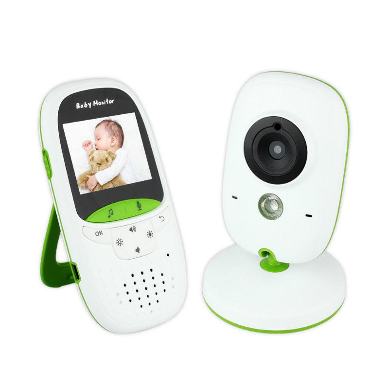 [해외]2.0 인치 무선 아기 monitorcamera 비디오 전자 보안 VB602 2 토크 Nigh 비전 IR LED 온도 모니터링/2.0 inch Wireless baby monitorcamera Video  electronic Security VB602 2 Tal