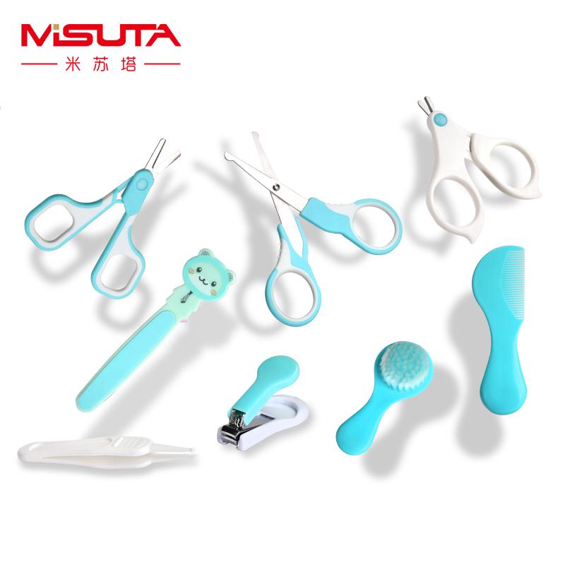 [해외]?8pcs / set 베이비 데일리 케어 안전 손톱 가위/ 8pcs/set Baby Daily Care Safety Nail Scissors