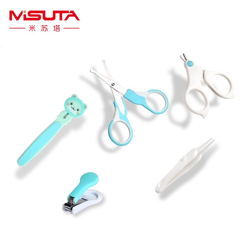 [해외]?5pcs / set 베이비 데일리 케어 안전 손톱 가위/ 5pcs/set Baby Daily Care Safety Nail Scissors