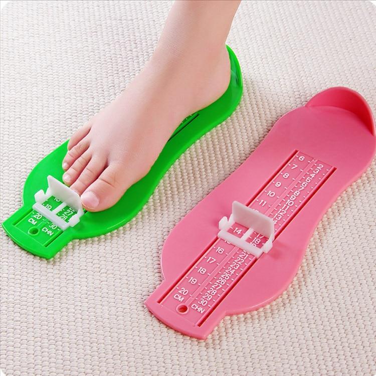 [해외]0-20cm 어린이 발 측정 도구 신발 도우미 아기 신발 크기 계산기 어린이 유아 피트 측정 눈금자 게이지 도구/0-20cm Kids Foot Measure Tool Shoes Helper Baby Shoes Size Calculator Children Infa