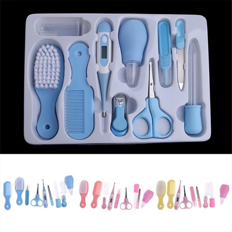 [해외]신생아 손톱 가위 안전 용품 클리퍼 커터 10PCS / 1Set 유아 유아용 손톱 트리머 신생아 장난감 용 매니큐어/Newborn kids Nail Scissors Safe Care Clipper Cutter 10PCS/1Set Kids Infant Nail T