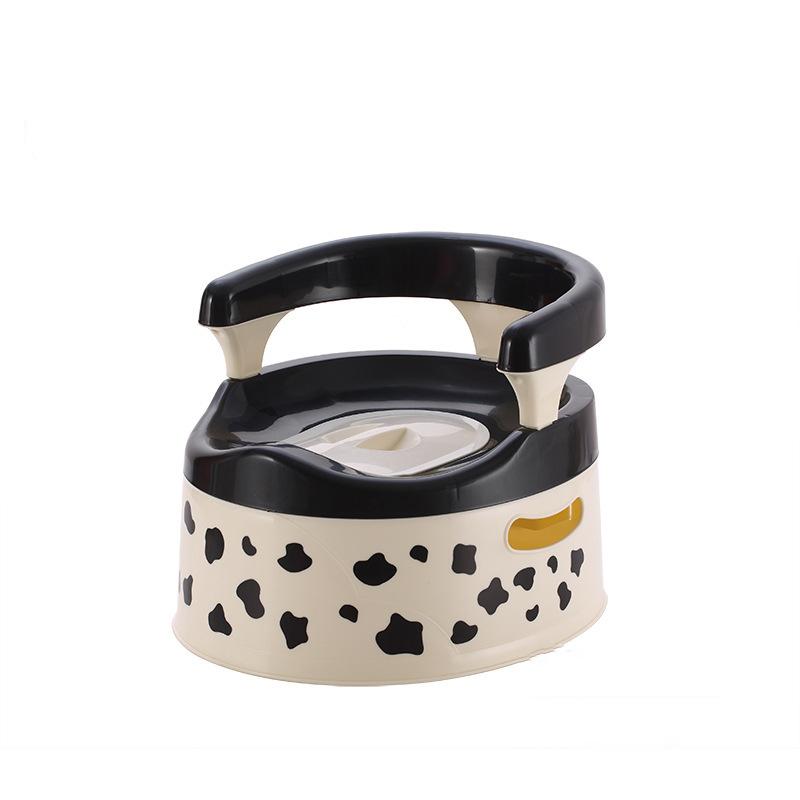 [해외]아기 화장실 좌석 귀여운 우유 암소 Leakproof 휴대용 어린이 냄비 플라스틱 서랍 아기 아기 화장실 훈련 UniChildren & s 변기/Baby Toilet Seat Cute Milk Cow Leakproof Portable Children Po