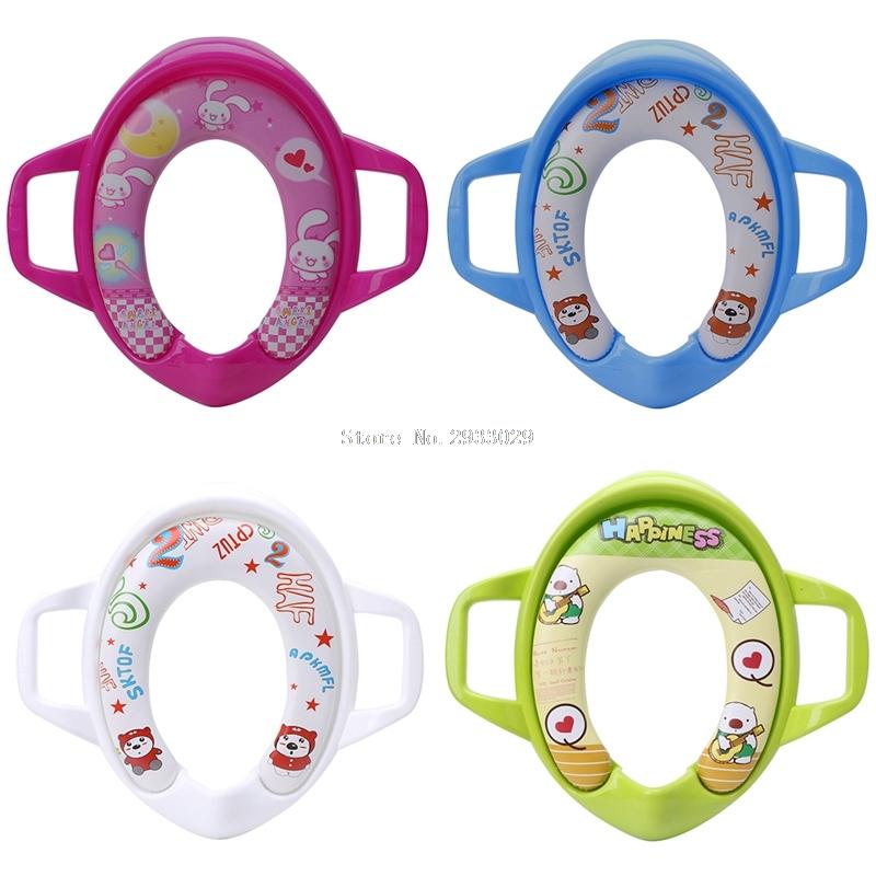 [해외]아기 어린이 유아 변기 화장실 훈련 어린이 좌석 받침 쿠션 패드 반지 -B116/Baby Kids Infant Potty Toilet Training Children Seat Pedestal Cushion Pad Ring -B116