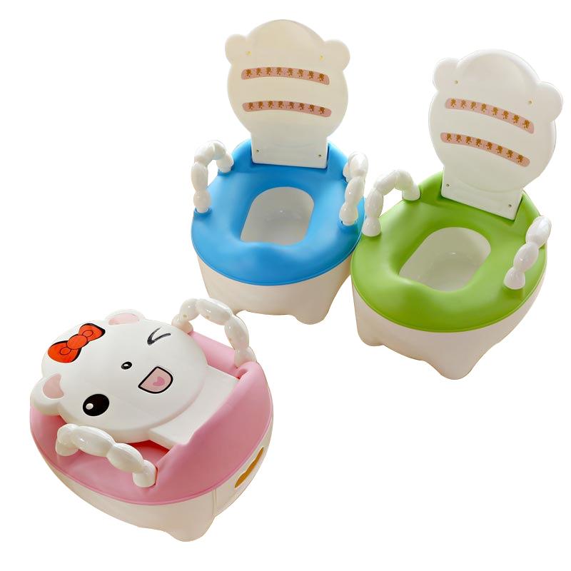 [해외]아기 변기 화장실 휴대용 만화 베이비 자동차 변기 아동 냄비 교육 여자 소년 변기 의자 어린이 변기 어린이 & 주전자/Baby Potty Toilet Portable Cartoon Baby Car Potty Child Pot Training Girls B