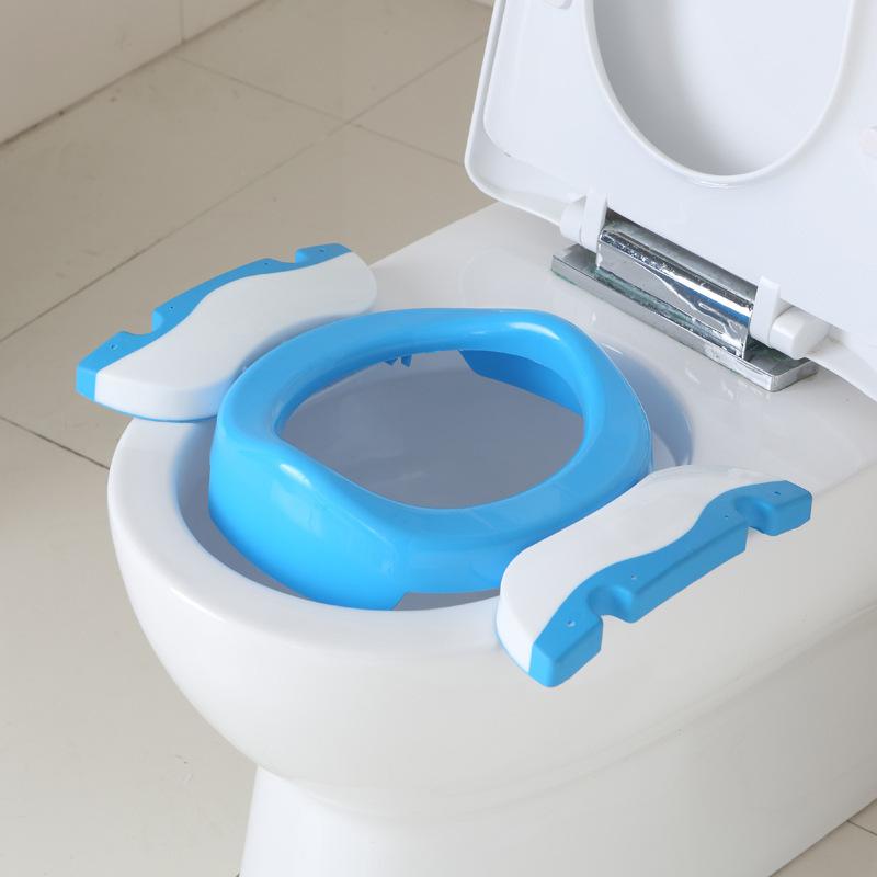 [해외]아동용 냄비 베이비 변기 휴대용 아동 및 유아용 냄비 어린이 접이식 사향 의자 교육 UniLeakproof 어린이 및 변기 시트/Child Pot Baby Toilet Seat Portable Children&s Pot Kids Folding Potty Chai