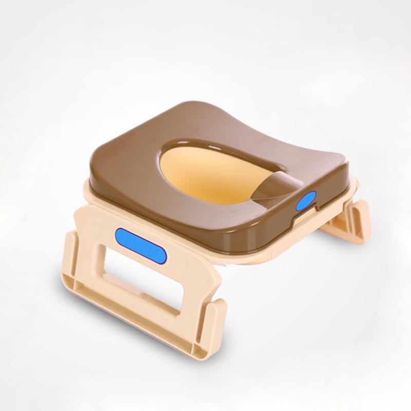 [해외]유아용 변기 시트 누설 방지 휴대용 플라스틱 어린이 및 유아 용품 어린이 접이식 사소한 의자 교육 UniChildren 및 s 변기 시트/Baby Toilet Seat Leakproof Portable Plastic Children&s Pot Kids Foldi