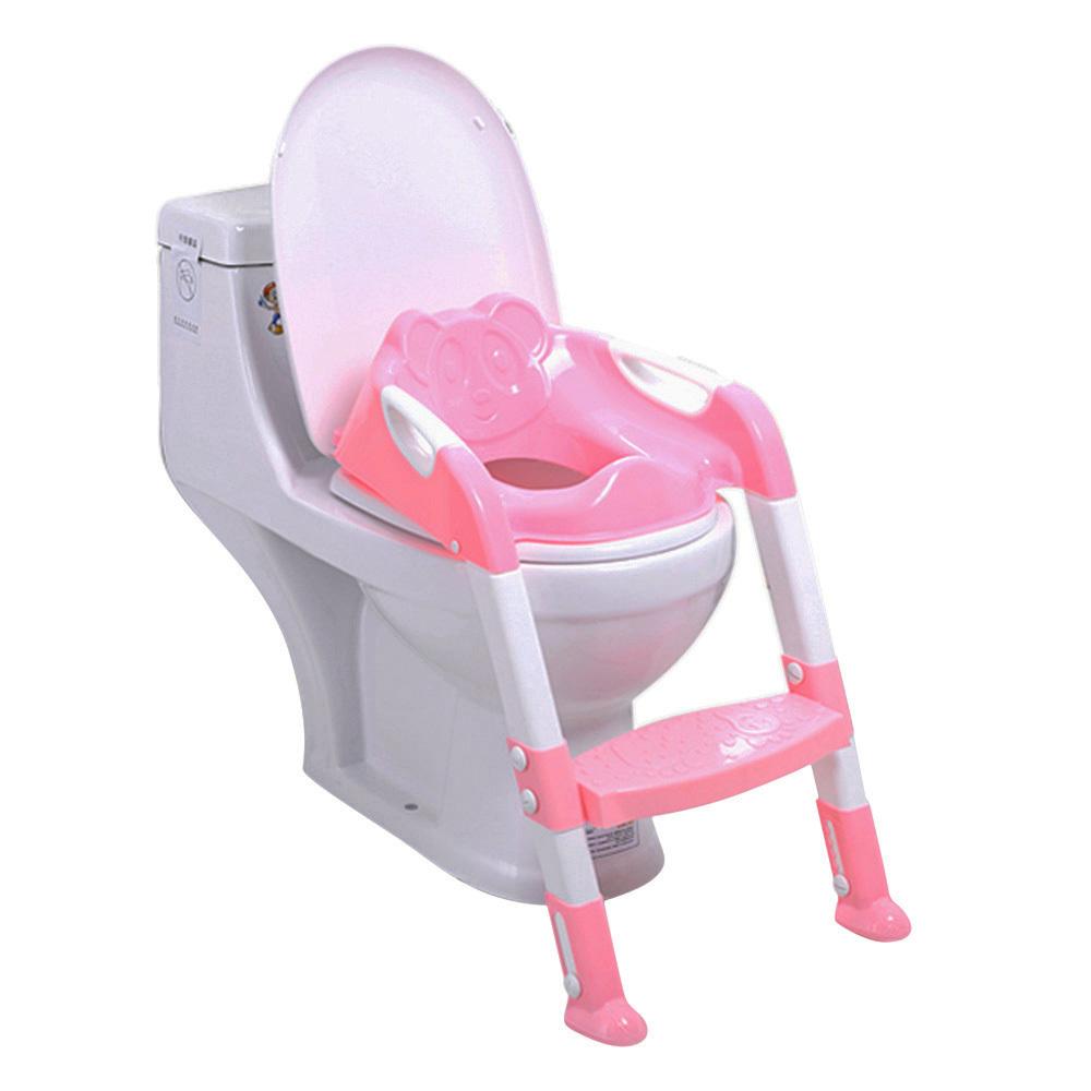 [해외]접이식 아기 사소한 훈련 의자 Adjustable 사다리 어린이 & S 변기 유아용 변기 유아 유아용 접이식 접이식 의자/Foldable Baby Potty Training ChairAdjustable Ladder Children&S Potty Baby
