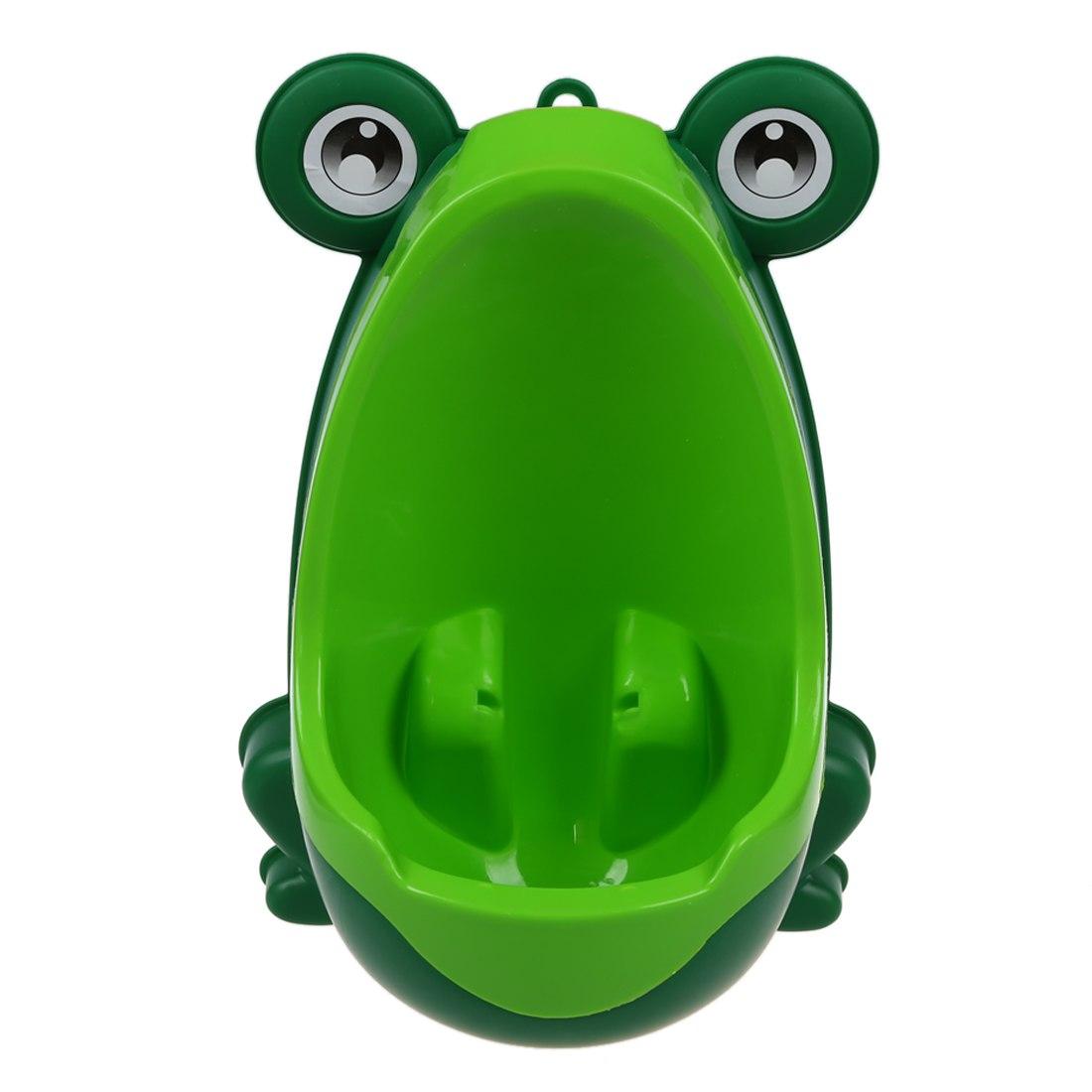 [해외]베이비 보이즈 키즈 유아 화장실 훈련기 트레이너 미니 화장실 (개구리 그린)/Baby Boys Kids Toddler Potty Training Pee Trainer Mini Toilet (Frog Green)