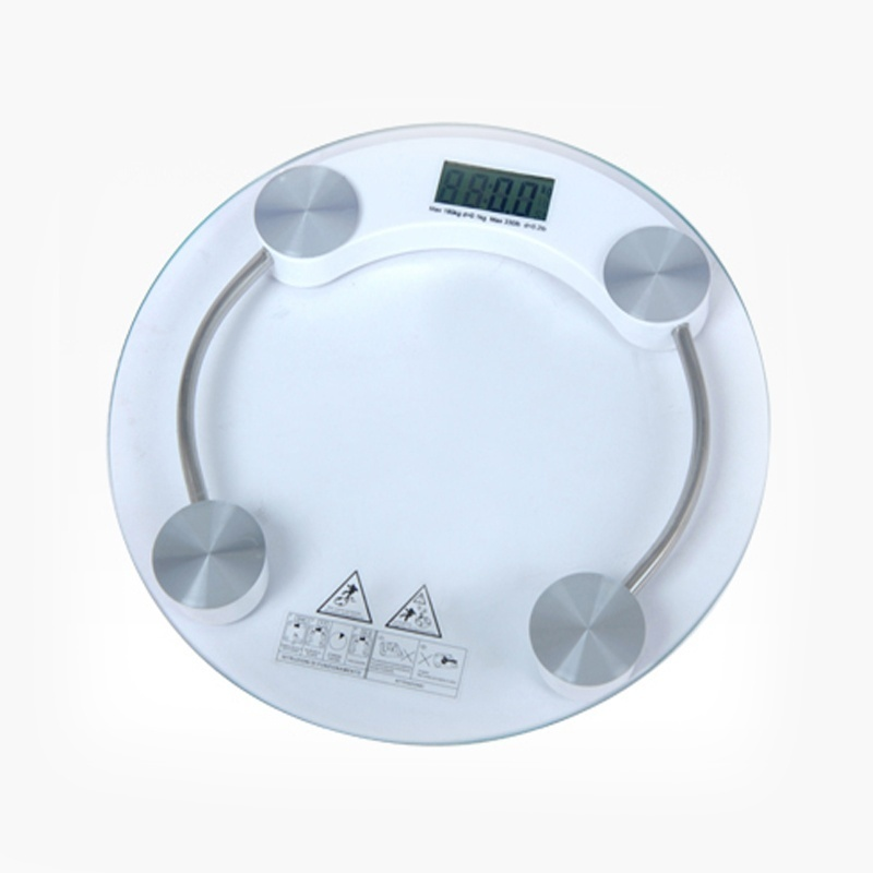 [해외]디지털 전자 유리 LCD는 몸이 욕실 저울 무게/Digital Electronic Glass LCD Weighing Body Scales Bathroom