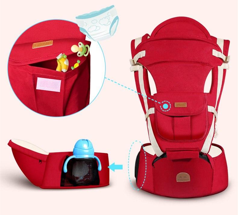 [해외]인체 공학 다기능 야외 캥거루 베이비 캐리어 슬링 배낭 유아 캐리어 슬링 아기 멜빵/Ergonomic Multifunction Outdoor Kangaroo Baby Carrier Sling Backpack Infant Carriers Sling Baby Sus