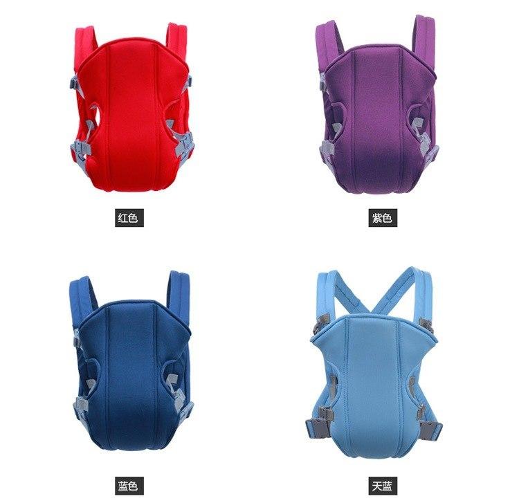 [해외]유아 아기 캐리어 신생아 크래들 어린이 슬링 랩 파우치 가방 아기 휴대용 통기성 가변 전면 앞 라이더 배낭 20kg/Infant Baby Carrier Newborn Cradle Kids Sling Wrap Pouch Bag Baby Portable Breath