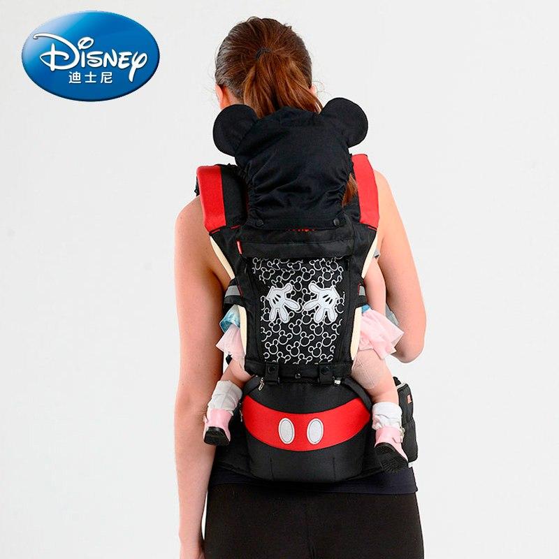 [해외]DisneyBaby Carrier 통기성 다기능 정면 유아용 유아용 슬링 배낭 파우치 포장용 디즈니 액세서리/DisneyBaby Carrier  Breathable Multifunctional Front Facing  Infant Baby Sling Backpa