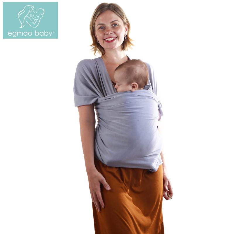 [해외]EGMAO BABY 신생아를새로운 베이비 슬링 베이비 캐리어 랩 스트라이프 코튼 신축성을베이비 캐리어 랩 캥거루 유아 배낭, Toddle & amp; 유아/EGMAO BABY New Baby Sling Baby Carrier Wrap For Newborn