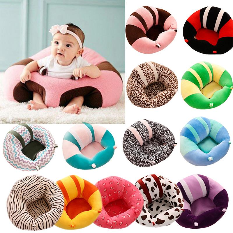 [해외]부드러운 플러시 아기 소파 지원 좌석 아기 앉아 의자에 앉아 0-3M 베이비에 앉아 자세를 편안하게 앉아 계속/Soft Plush Baby Sofa Support Seat Baby Learning To Sit Chair Keep Sitting Posture Co