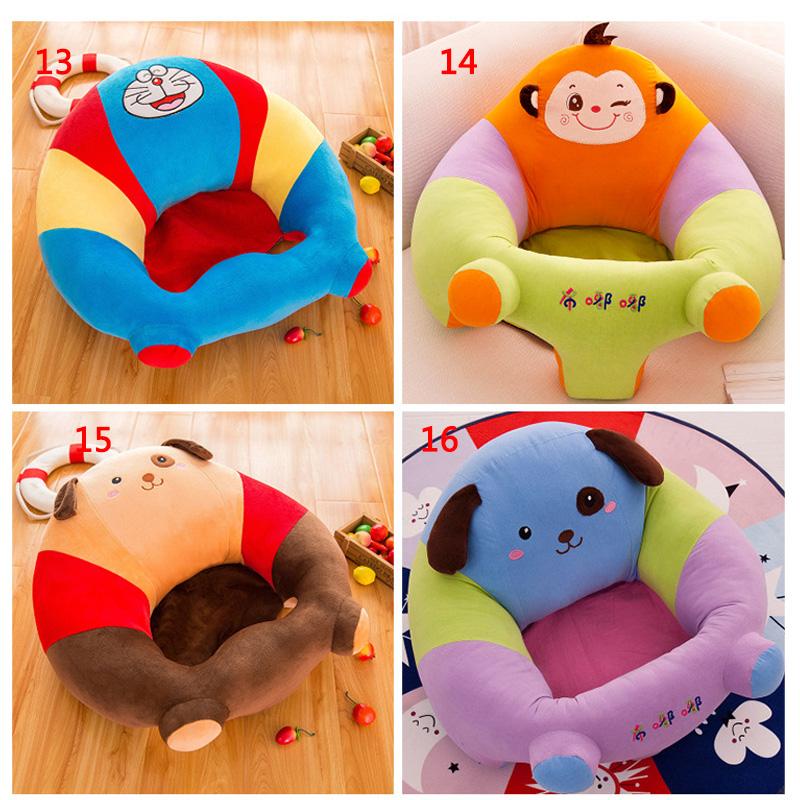 [해외]아기 플러시 지원 좌석 부드러운 소파 유아 앉아 의자에 앉아 계속 소파에 앉아 계속/Baby Plush Support Seat Soft Sofa Infant Learning To Sit Chair Keep Sitting Sofa
