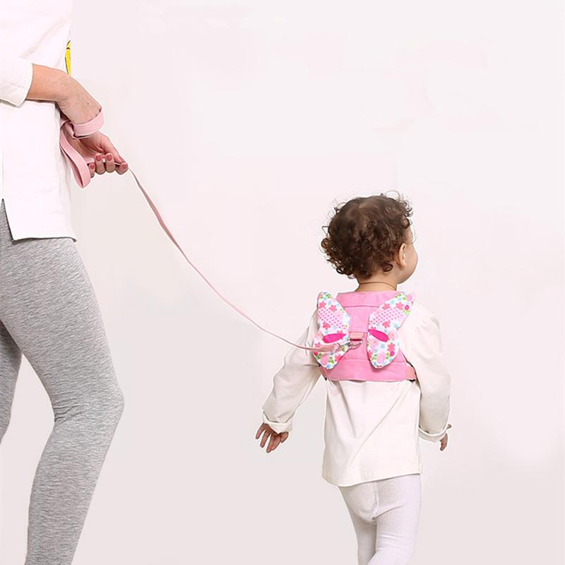 [해외]귀여운 천사 스타일 어린이 안전 문자열 1.5 미터 긴 코드 견인 밧줄 안티 잃어버린 아기 어린이 안전 벨트/Cute Angel Style Children Safe String 1.5 Meters Long Cord Traction Rope Anti Lost Ba