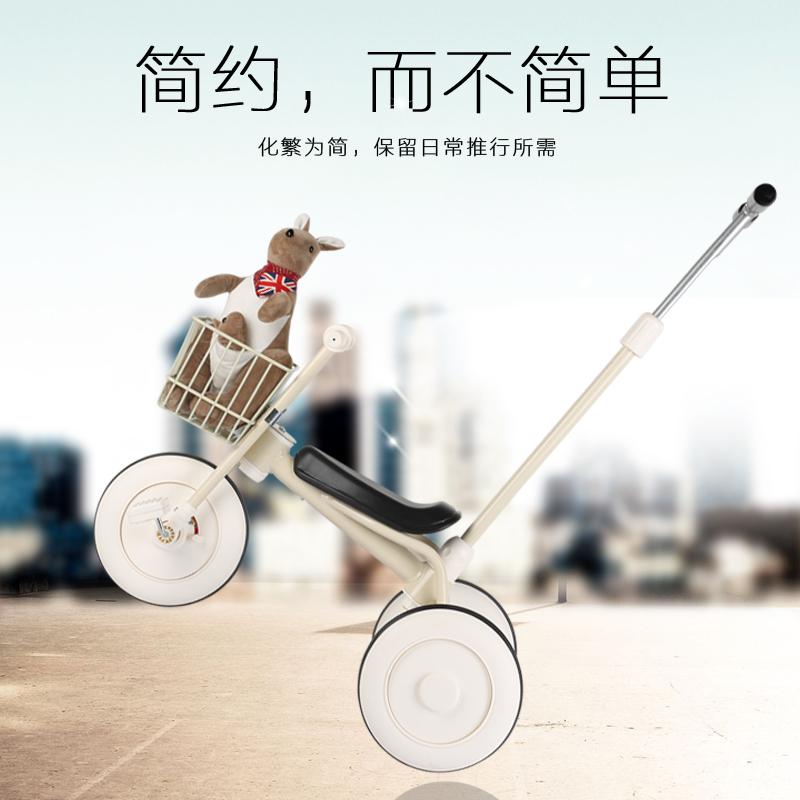 [해외]1-3-5 세 아기 Trike 어린이 세발 자전거 아기 유모차 카트 Pram Buggies Baby Trike/1-3-5 - Year - Old Baby Trike Children Tricycle Bike Baby Stroller Cart Pram Buggies