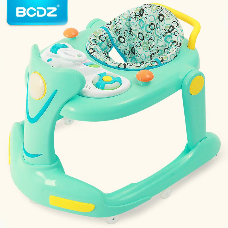 [해외]박하 유아 워커 6-18 개월 아기 학습 워커 다기능 안티 롤오버 아기 음악 핸드 부엉이 공부 자동차 워커/Mint Infant Walker 6-18 Months Baby Learning Walker Multi-function Anti-rollover Baby