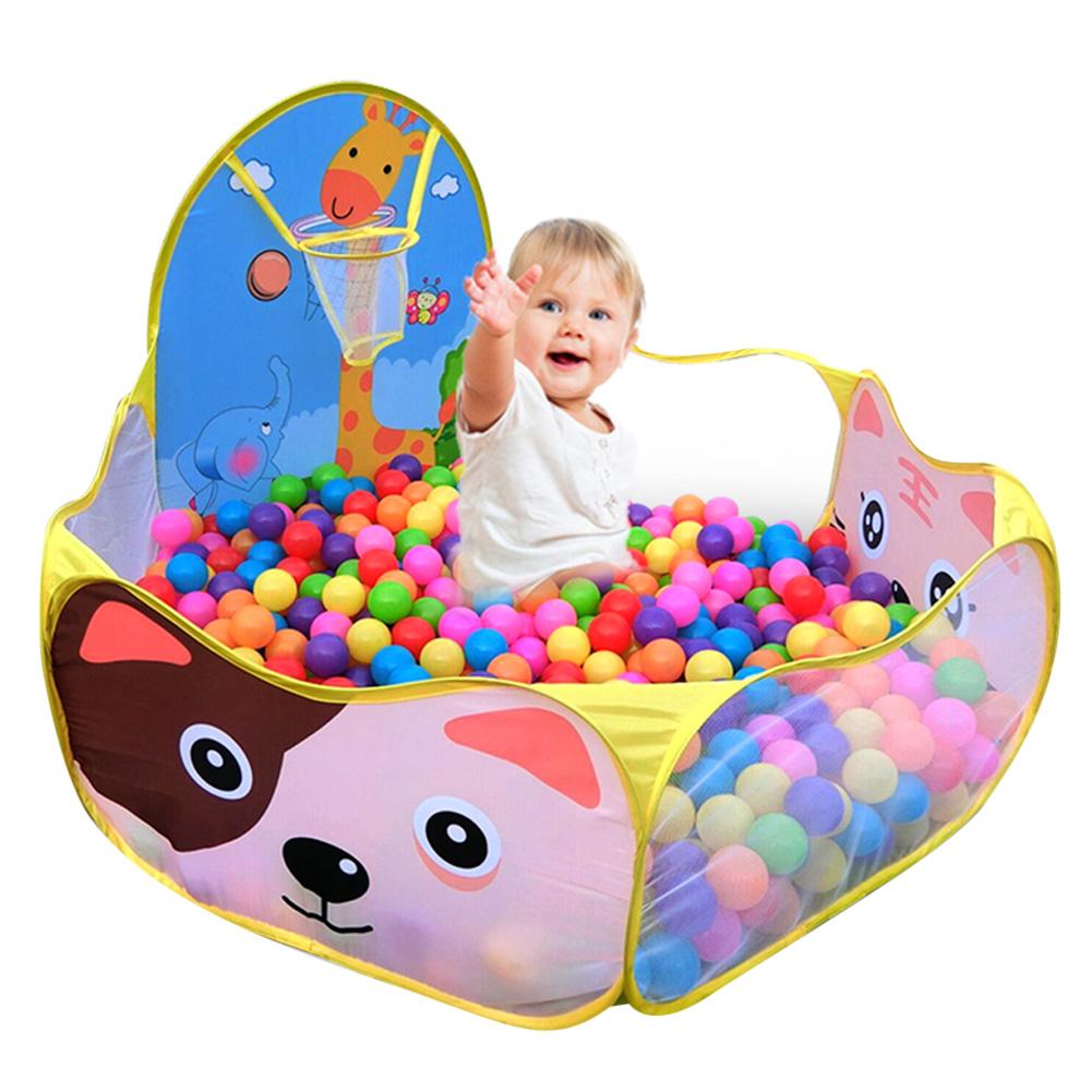 [해외]어린이 아기 소년 소녀 오션 볼 구덩이 풀 게임 놀이 TentBasketball 후프 야외 실내 정원 아이 게임 플레이 하우스/Children Baby Boys Girls Ocean Ball Pit Pool Game Play TentBasketball Hoop