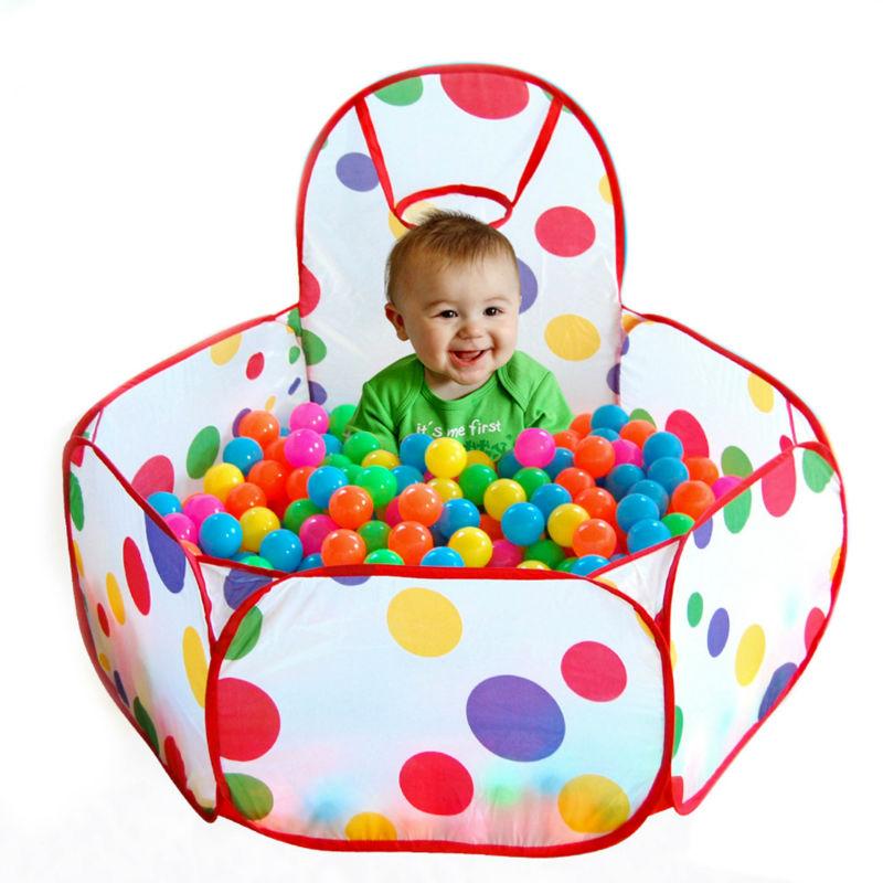 [해외]100 * 100 * 37cm 어린이 오션 볼 구덩이 수영장 아기 놀기 천막 옥외 게임 오두막 수영장 놀이터/100*100*37cm Kids Children Ocean Ball Pit Pool Baby Play Tent Outdoor Game Hut Pool P