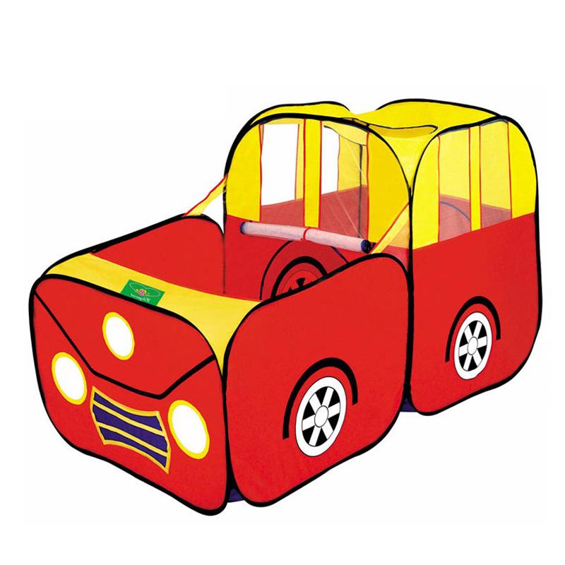 [해외]새로운 어린이 게임 놀이 야드 아이 안전 휴대용 놀이터 장난감 텐트 거대한 자동차 디자인 하우스 헛 볼 풀 볼 야외 실내/New Kids Game Play Yard Kid Safe Portable Playpen Toy Tent Huge Car Design Hou