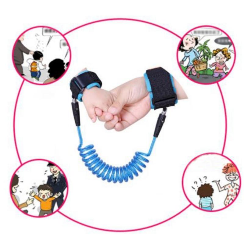 [해외]아이 끈 Anti-Lost 손목 링크 견인 밧줄 벨트 유아 유아 아기 키즈 안전 안전 하네스 아기 안전에 대 한 1.5,20,25 C.M/Child Leash Anti Lost Wrist Link Traction Rope Belt Infant Toddler Ba