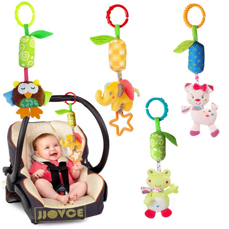 [해외]Playpen 아기 매달려 장난감 유모차 인형 인형 인형 유아 운반 대 부속품 신생아 감각을바람 종려는 B0671를 개발한다/Playpen Baby Hanging Toys Stroller Rattles Plush Dolls Infant Carrier Access