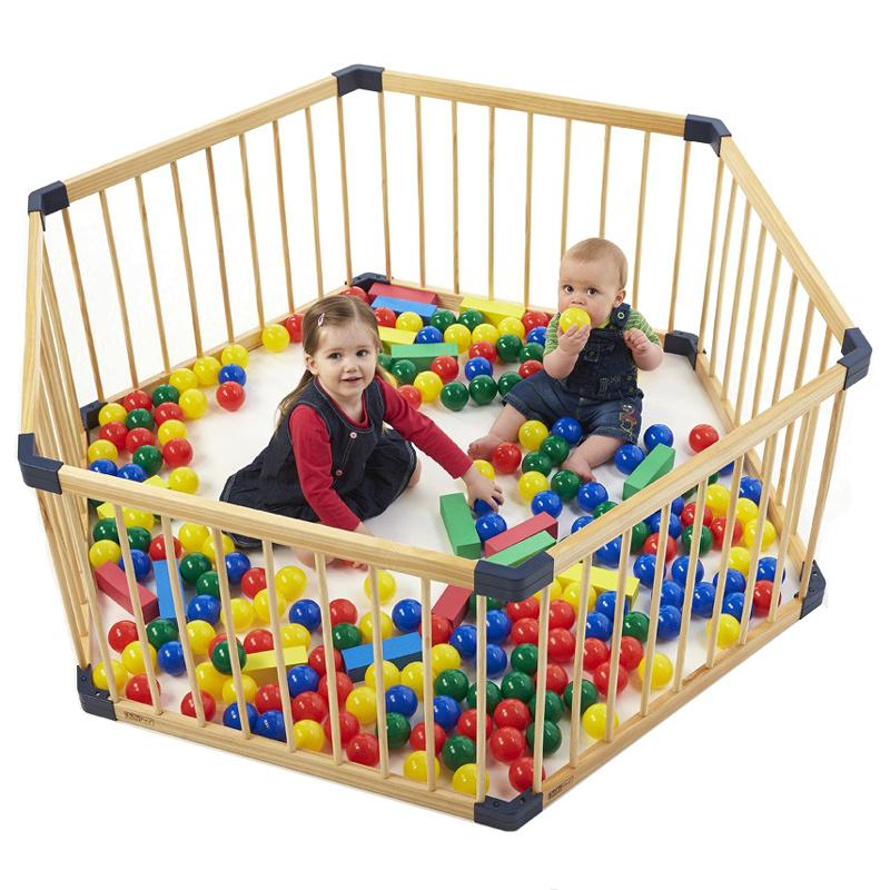 [해외]단단한 문 아기 아기 놀이터 수출 냄새 건강 아기 울타리 어린이 & s 게임 울타리 7pcs +1 게이트 아기 울타리, 가드 레일 8pcs/Solid wood gate baby playpen export no smell health baby fence C