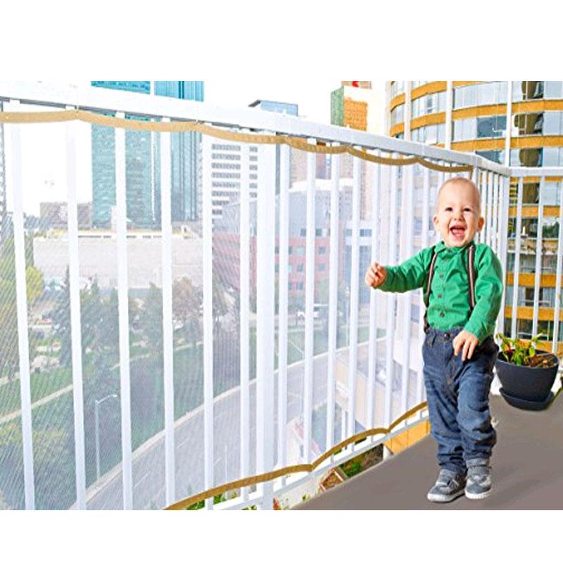 [해외]어린이 발코니 계단 안전 그물 키즈 안전 갑판 가드 베이비 플레이 펜 메쉬 그물 보호대 아기 실내 야외/Child Balcony Stairs Safety Net Kid Safe Deck Guard Baby Playpens Mesh Net Protector for