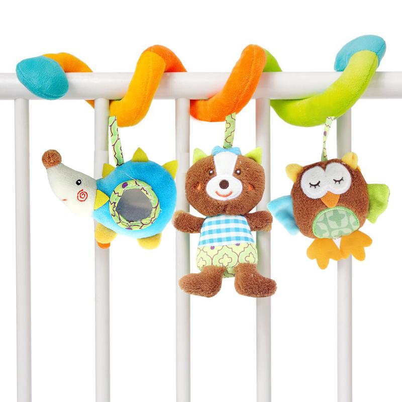 [해외]JJOVCE 아기 Playpen 교수형 장난감 견면 벨벳 장난감 RattlesOwl 곰 인형 뮤지컬 조기 교육 아기 완구 유모차 액세서리/JJOVCE Baby Playpen Hanging Toys Plush Crib RattlesOwl Bear Doll Musi
