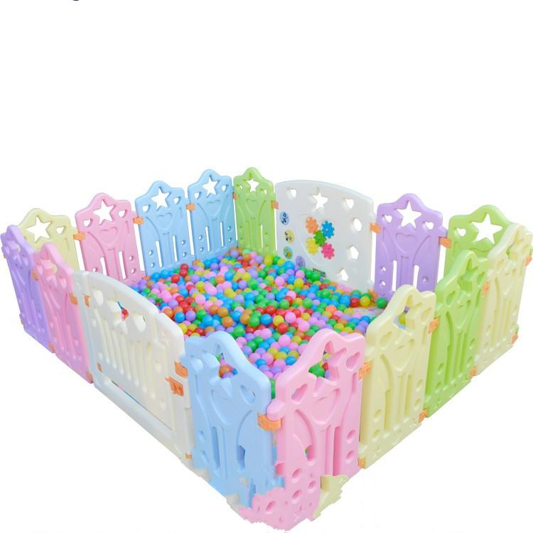 [해외]새로운 아기 Playpens 어린이 놀이 울타리 어린이 활동 기어 환경 보호 안전 놀이 야드 실내 야외 게임 하우스/New Baby Playpens Children Play Fence Kids Activity Gear Environmental Protection