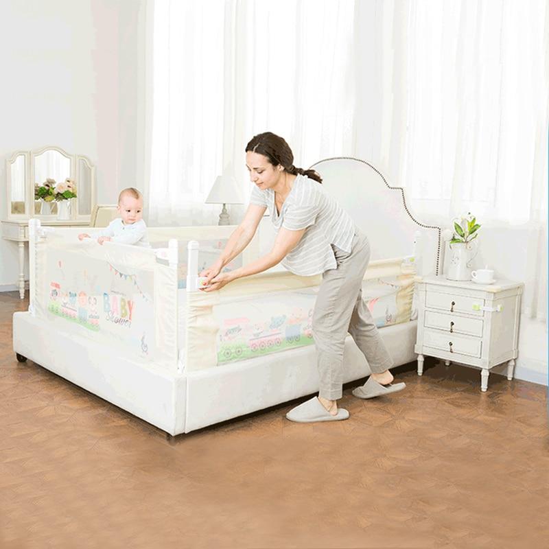 [해외]리프트 유형 베이비 베드 레일 베이비 침대 안전 가드 레일 업그레이드 어린이 침대 어린이 놀이터 보안 모든 유형 침대 침대 울타리 적합/Lift Type Baby Bed Rail Baby Bed Safety Guardrail Upgrade Cot Playpen