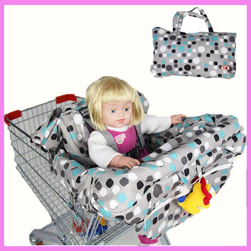 [해외]신생아 유아 슈퍼마켓 장바구니 커버 휴대용 가방 어린이 안전 좌석 쿠션 다이닝 의자 좌석 쿠션 매트/Newborn Infant Supermarket Shopping Cart Cover Portable Bag Child Safety Seat Cushion Dinn