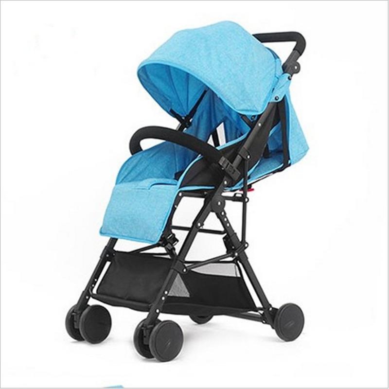 [해외]Bebe 우산 차 High Landscape 초경량 베이비 유모 Folding Baby Girl & Boy Carriage 0-3 세 보라색, 적색, 청색./3 in 1 Bebe Umbrella Car High Landscape Ultra-light Ba