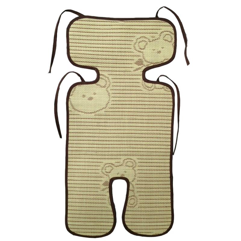[해외]여름 트롤리 버 기 방수 매트 아기 유모차 아마 식물 섬유 매트/Summer Trolley Buggy Waterproof Mat Baby Stroller Flax Plant Fiber Mats