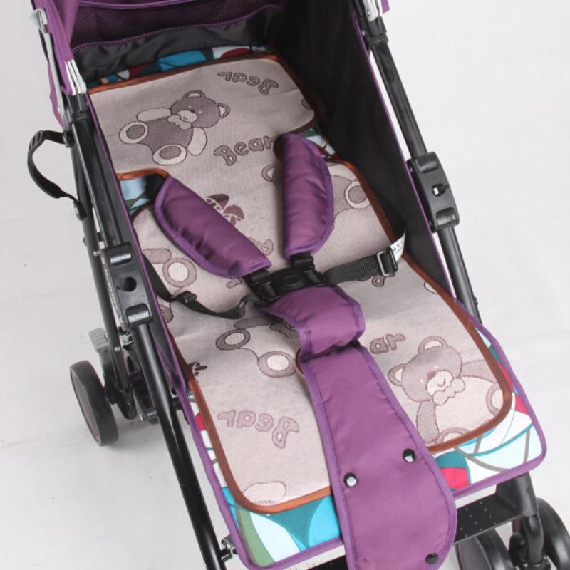 [해외]신생아 통기성 아기 유모차 매트 여름 유모차 유모차 용 유모차 용 의자 Pushchairs 아동용 어린이 접이식 쿠션 패드/Newborn Breathable Baby Stroller Mat Summer Cool Infant Rattan Seats for Pram