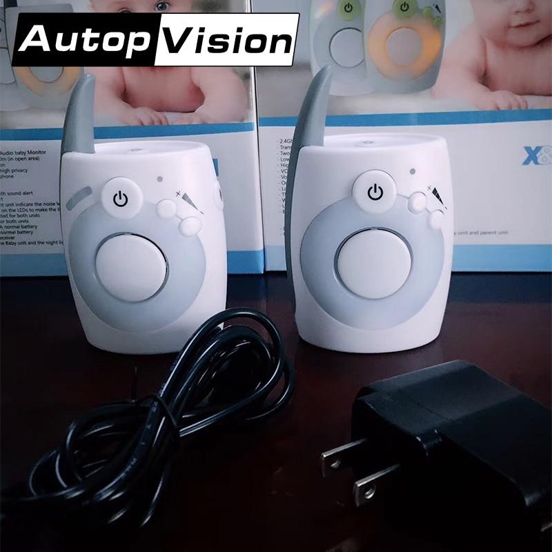 [해외]D1020 새로운 2.4Ghz 무선 디지털 베이비 모니터 오디오 라디오 보모 아기 전화 모니터 KidsToys 미니 무전기 말투 바바 Eletronica/D1020 New 2.4Ghz Wireless Digital Baby Monitor Audio Radio N