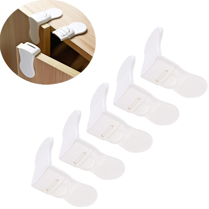 [해외]5 PCS 단단한 플라스틱 아기 아이 키즈 안전 안전 보호 서랍 내각 문 직각 자물쇠 아이들 안전 제품/5 PCS Hard Plastic Baby Child Kids Care Safety Protection Drawer Cabinet Door Right Angl