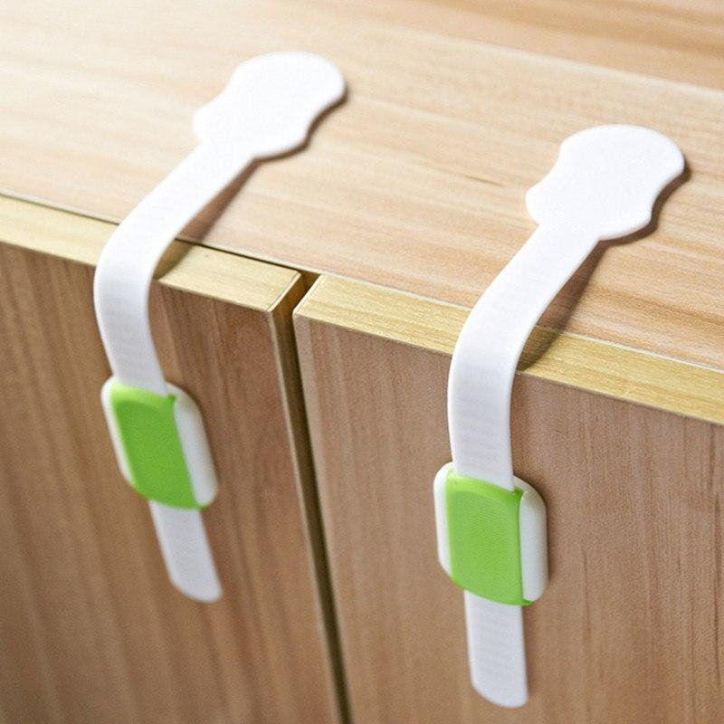 [해외]5 PC / lot 베이비 안전 잠금 장치 텔레스코픽 조절 안전 잠금 22cm에 대한 파란색 / 녹색 패션 안전 잠금/5 Pcs/lot Baby Safety Lock Telescopic Adjustable Safety Lock The Blue/ Green Fas