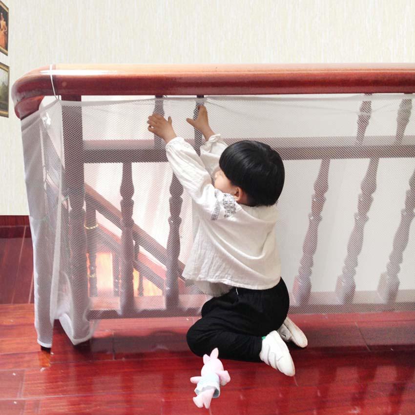 [해외]아기 안전 울타리 그물 발코니 아이들을울타리 아이들의 위험으로부터 어린이를 보호하십시오 짙어지기를 두려워하지 말라./Baby Safety Fence Net Balcony Fencing for Children Protect the Child from the Ris