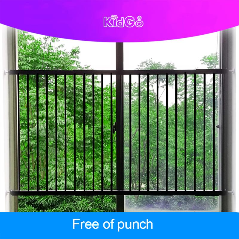 [해외]Kidgo 장식 창 강화 비파괴 천공 무료 어린이 창 보안 울타리/Kidgo Decoration Window Guardrail Heightening Nondestructive Perforation Free Children Window Security Fence